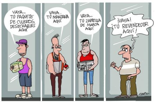 Revendedores (Caricatura x Osval/ACN)
