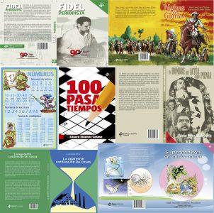 Collage libros de la Pablo