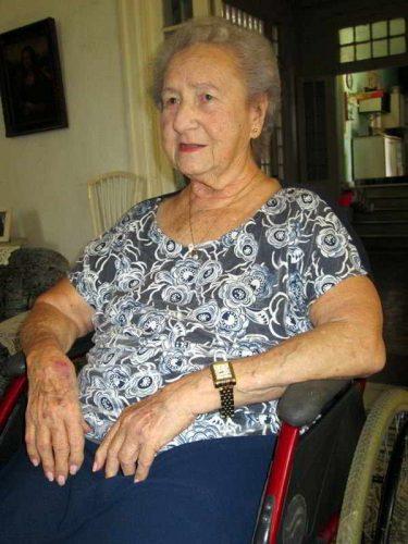 Mirta Muñiz, fundadora de la TV Cubana, es una reconocida personalidad de nuestros medios (Foto: Portal TVC)