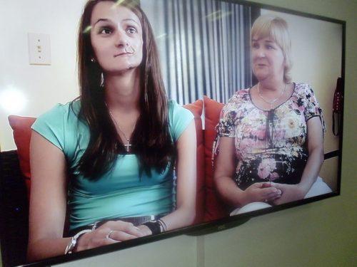Tania y su mamá conocieron del humanismo de la Revolución Cubana durante el programa de atención a los niños de Chernobil (Foto: JGC)