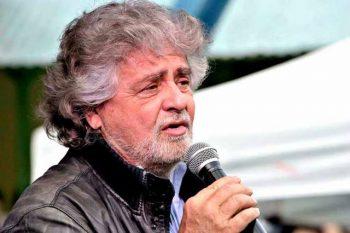 Beppe Grillo, lider del Movimiento 5 Estrellas