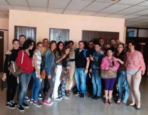 Encuentro de jóvenes periodistas en Sancti Spiritus (Foto: OAS)