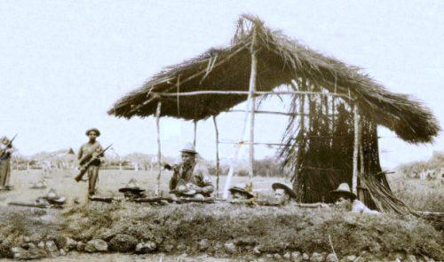 Soldados del Ejército leales a Menocal