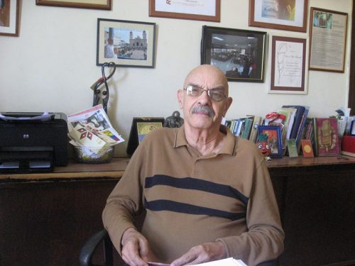 Antonio Moltó Martorell, presidente de la Unión de Periodistas de Cuba, es también un hombre de la radio (Foto: Nailet Rojas)
