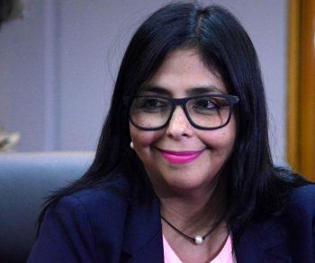 La canciller de Venezuela, Delcy Eloína Rodríguez (Foto: Abel Padrón Padilla / ACN)