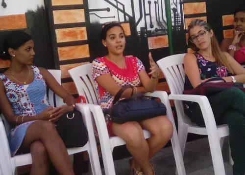 Encuentro del Club Juvenil de la Prensa en Santiago de Cuba (Foto: VMZ)