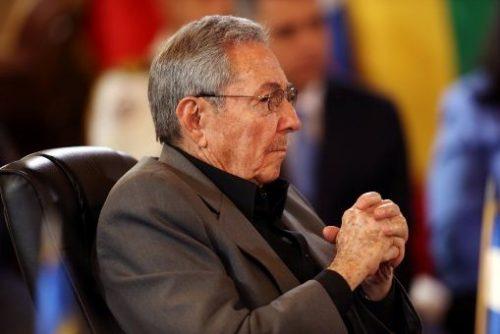 El presidente Raúl Castro durante la cumbre ALBA-TCP, en Caracas (Foto: Reuters)