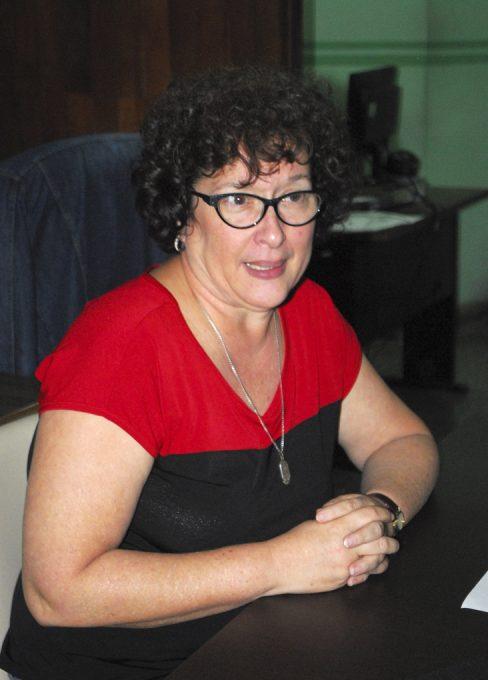 Hilda Saladrigas, Decana de la Facultad de Comunicación de la Universidad de La Habana.