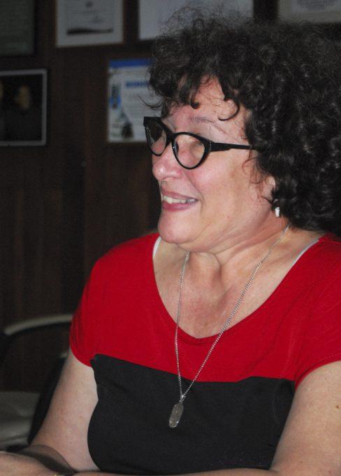 Dra. Hilda Saladrigas, Decana de la Facultad de Comunicación de la Universidad de La Habana. Foto: Yoandry Avila/ Cubaperiodistas.
