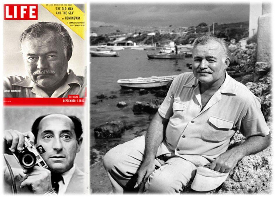 Hemingway y los fotógrafos en Cuba