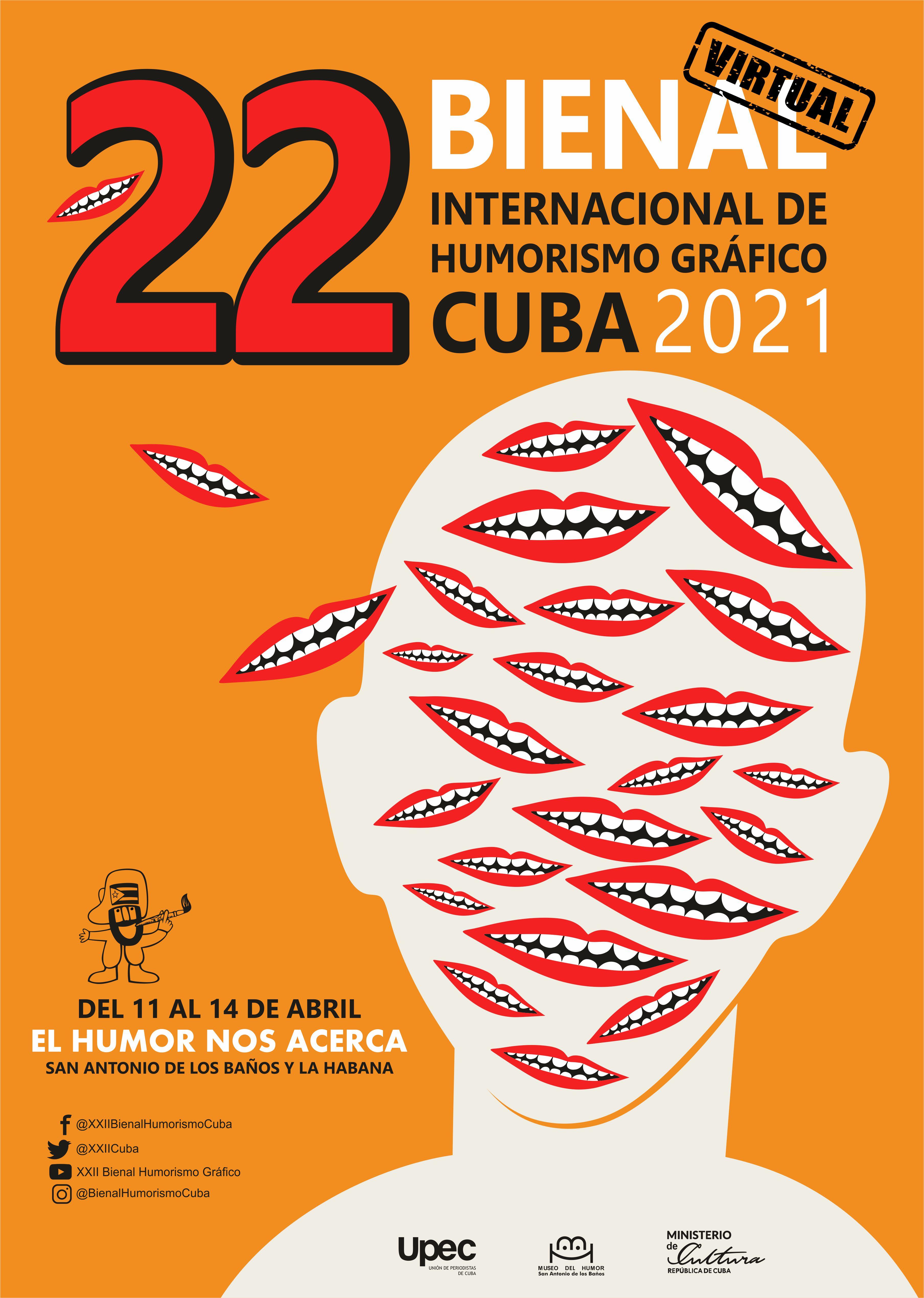 Sesionará de manera virtual XXII Bienal Internacional de Humorismo Gráfico