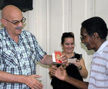 Reunión con periodistas jubilados